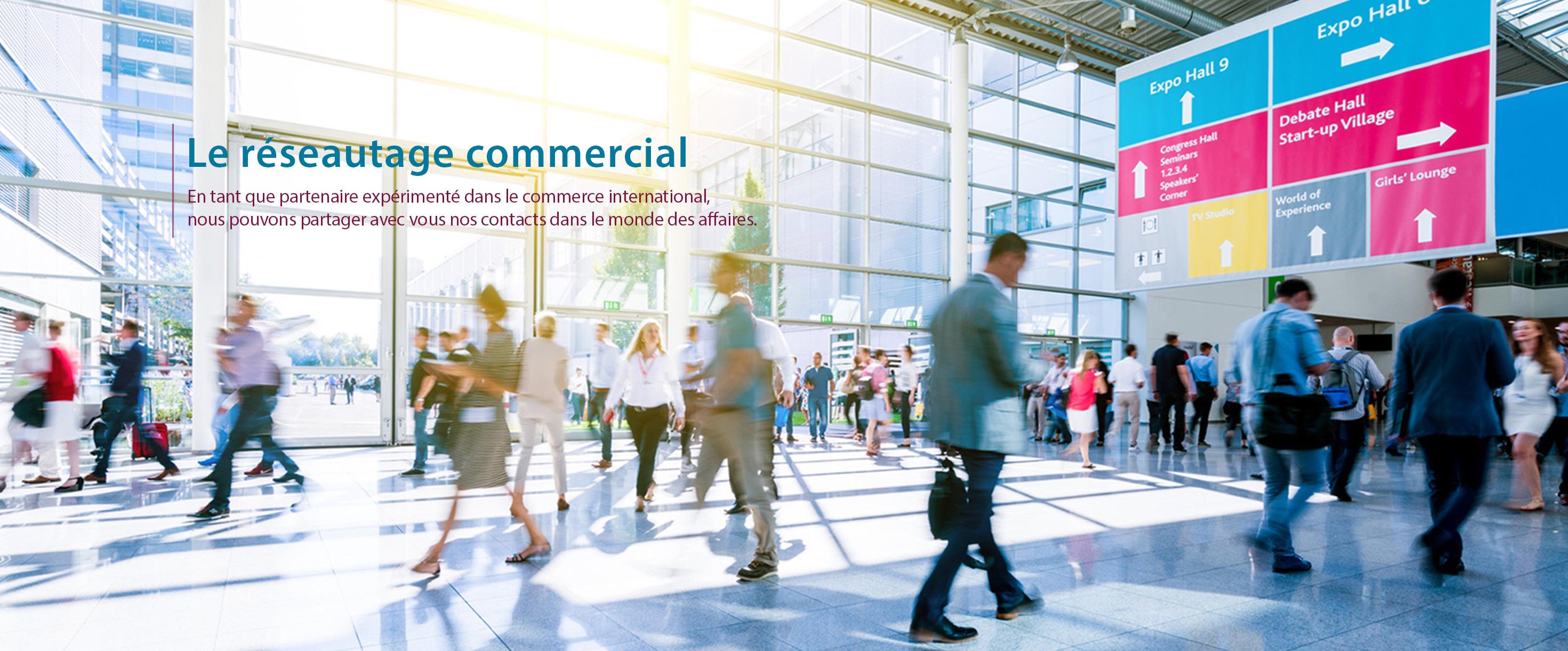 Le réseautage commercial